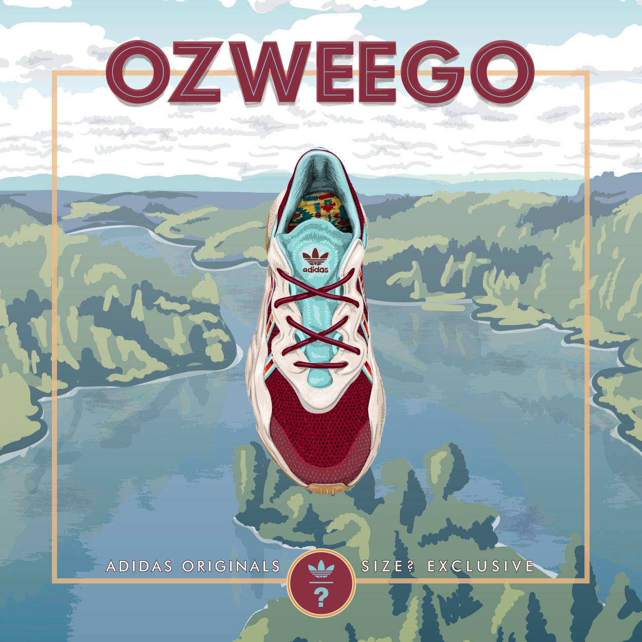 adidas Originals Ozweego – size? Exclusive