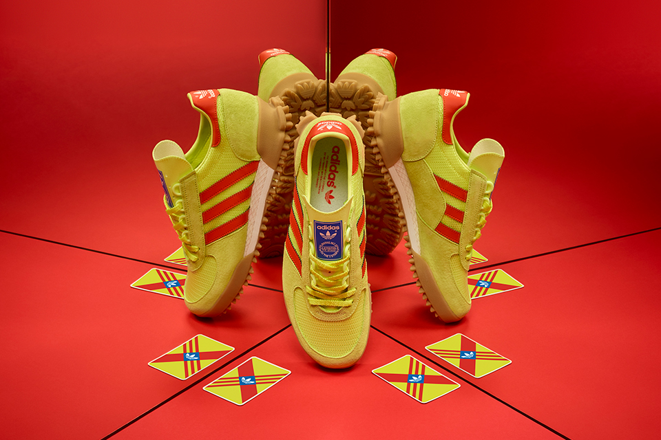 adidas Originals Marathon TR - size? Exclusive Yellow/Red