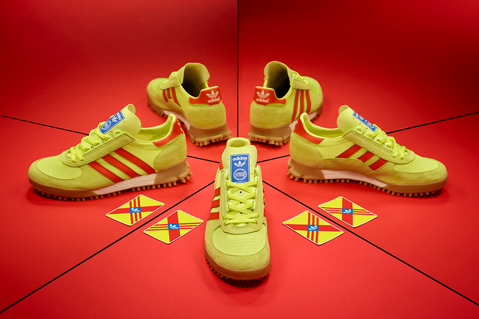 adidas Originals Marathon TR - size? Exclusive Yellow/Red