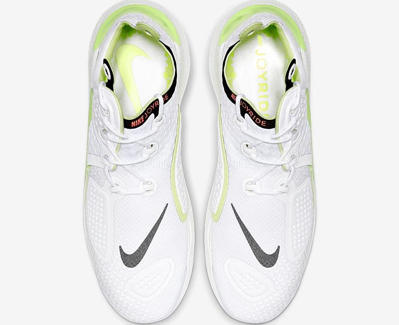 Nike Joyride NSW Setter white ariel view