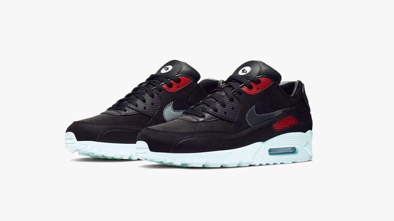 "new concept df5d4 e547d Take a spin on Nike's record-inspired Air Max 90 ""Vinyl ..."
