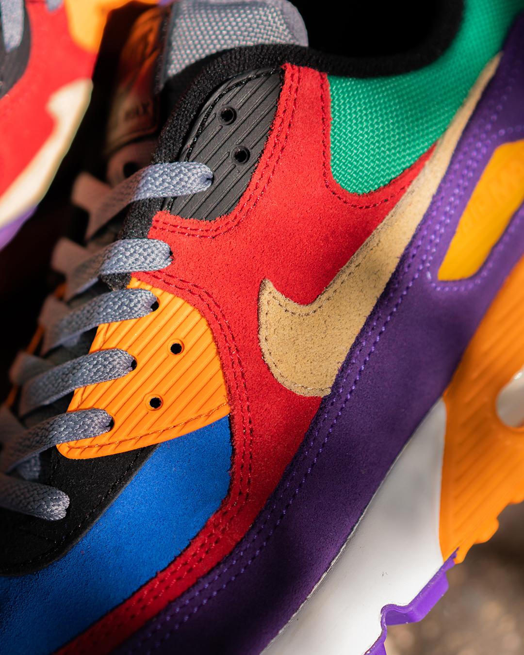 Nike Air Max 90 QS 'Viotech' Swoosh