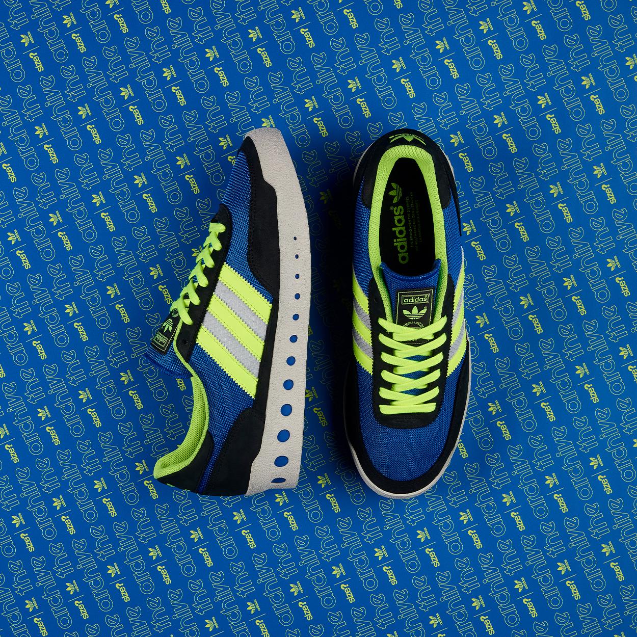 adidas Originals Training PT 'Blue/Lime Green'