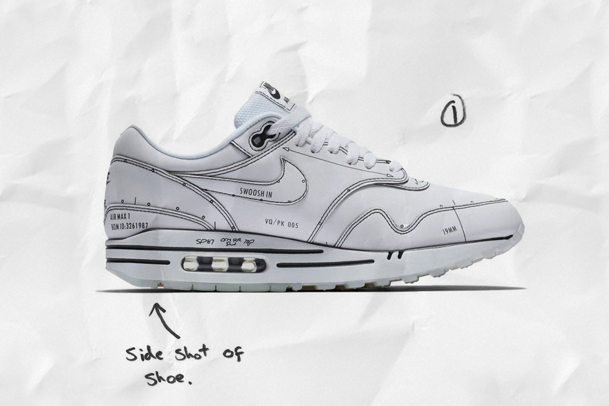 Air Max 1 Sketch to Self