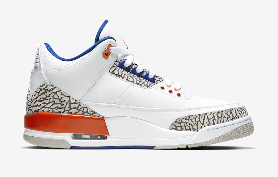 Jordan 3 Knicks