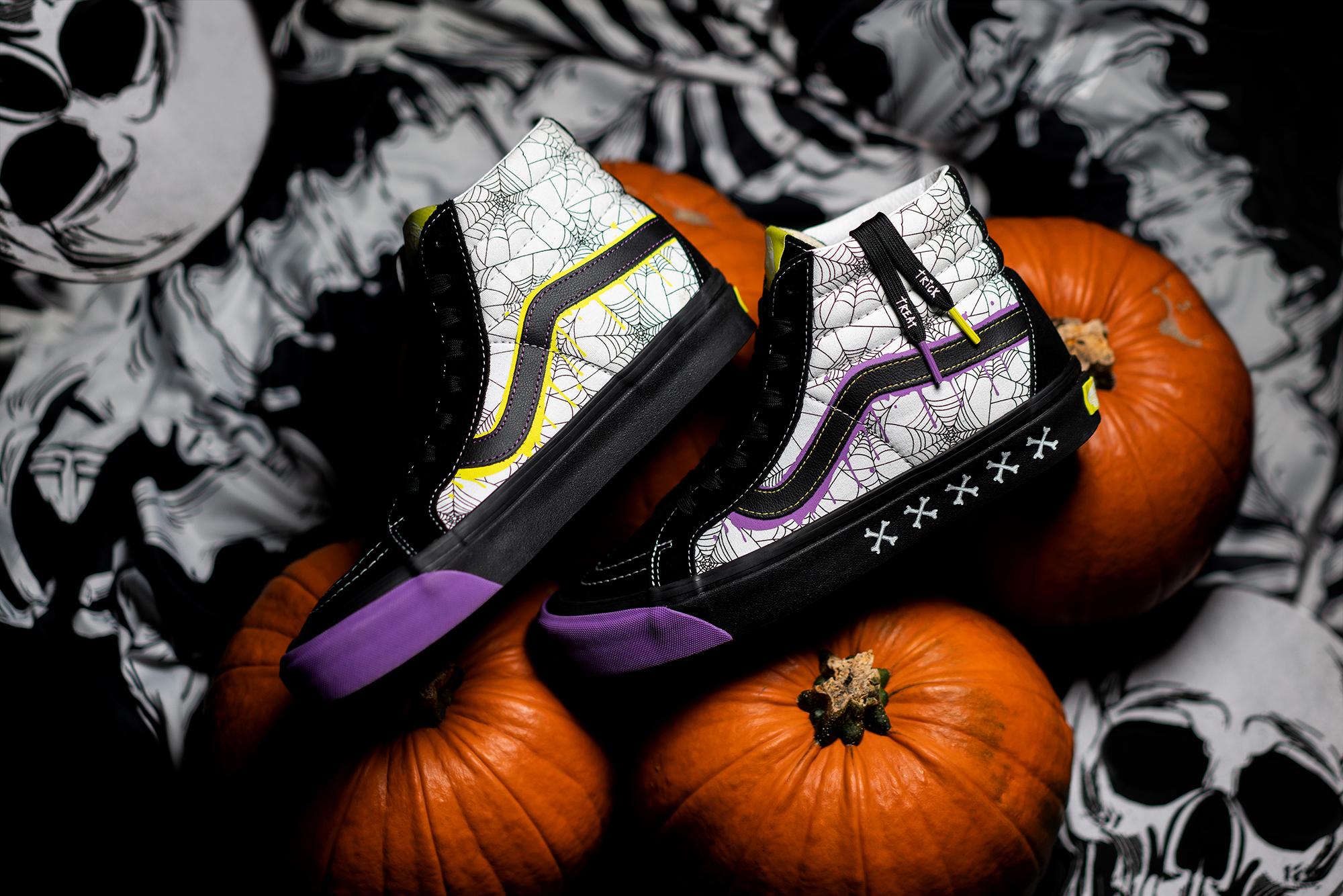 size? x VANS Sk8-Hi 'Halloween'