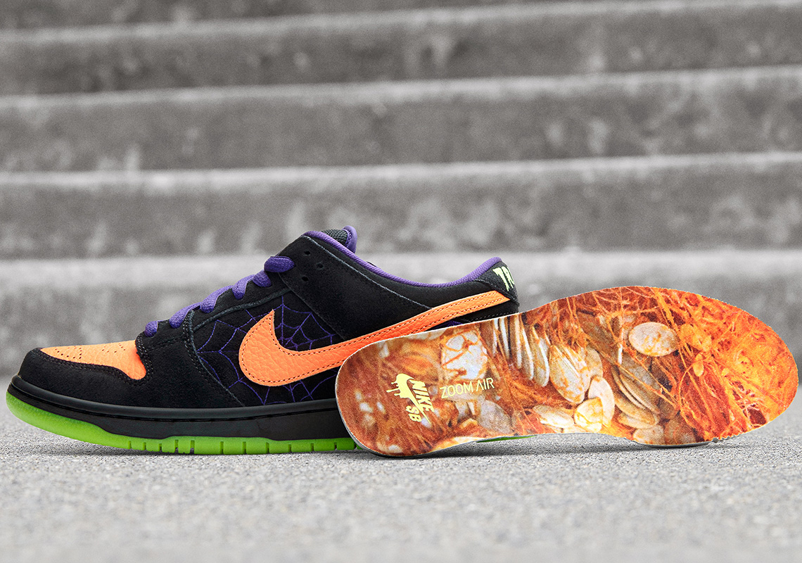 Nike SB's Halloween-ready Dunk Low 'Night of Mischief'