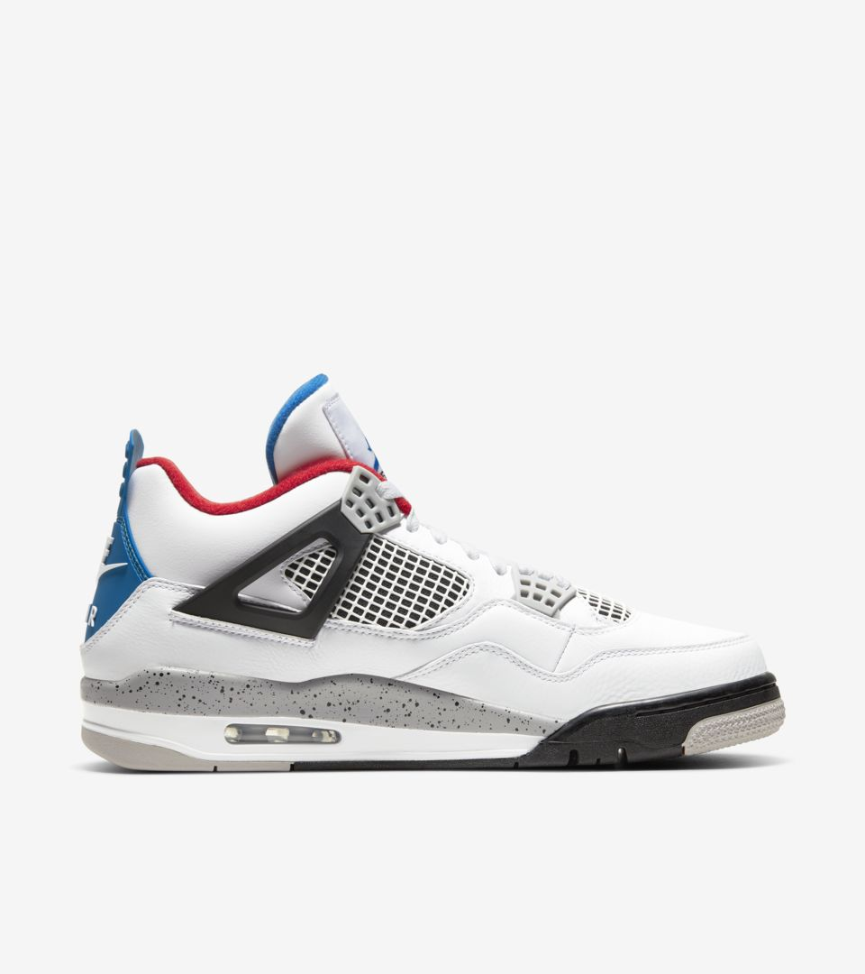 Air Jordan 4 Retro 'What The' medial side