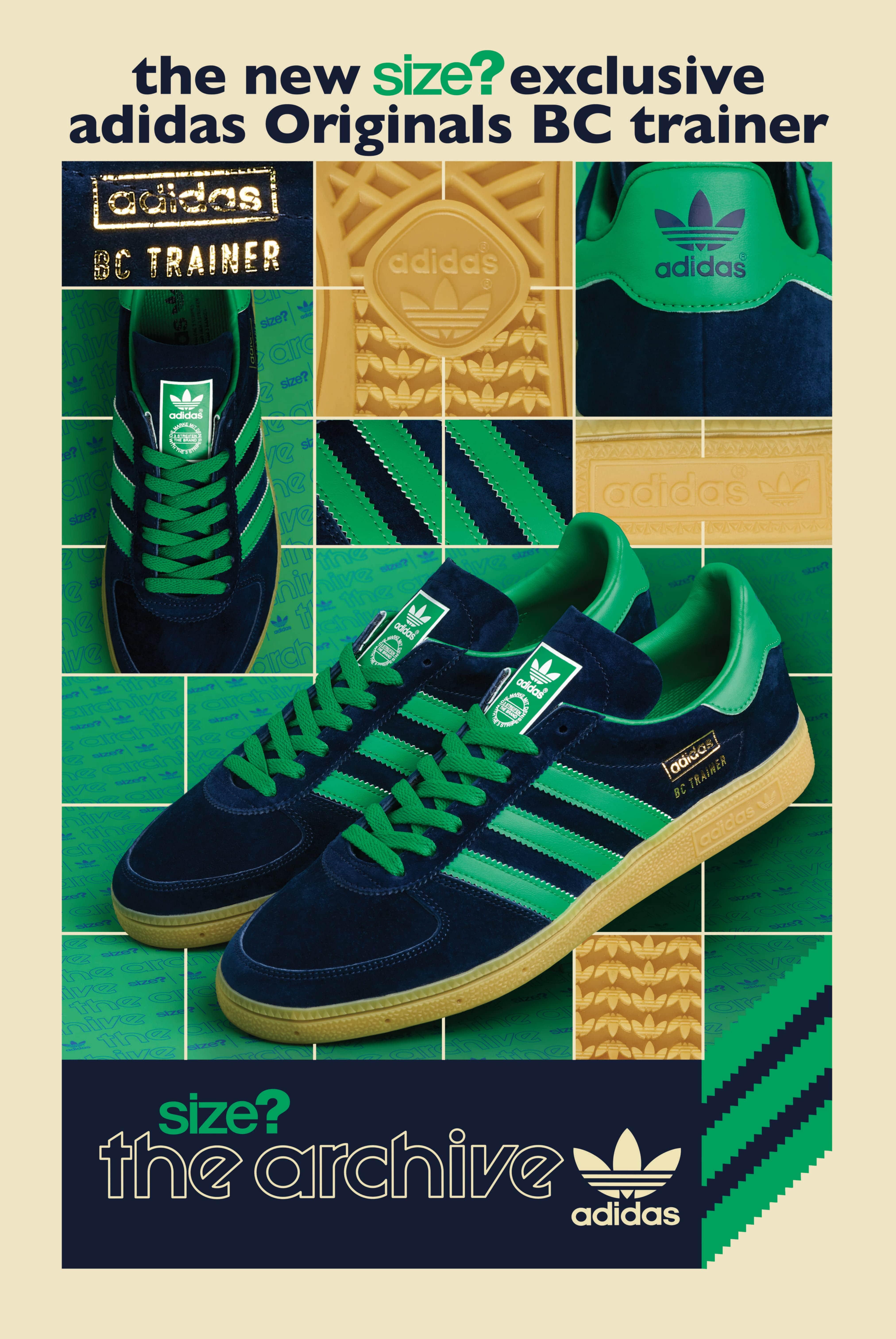 adidas Originals BC Trainer – size? Exclusive