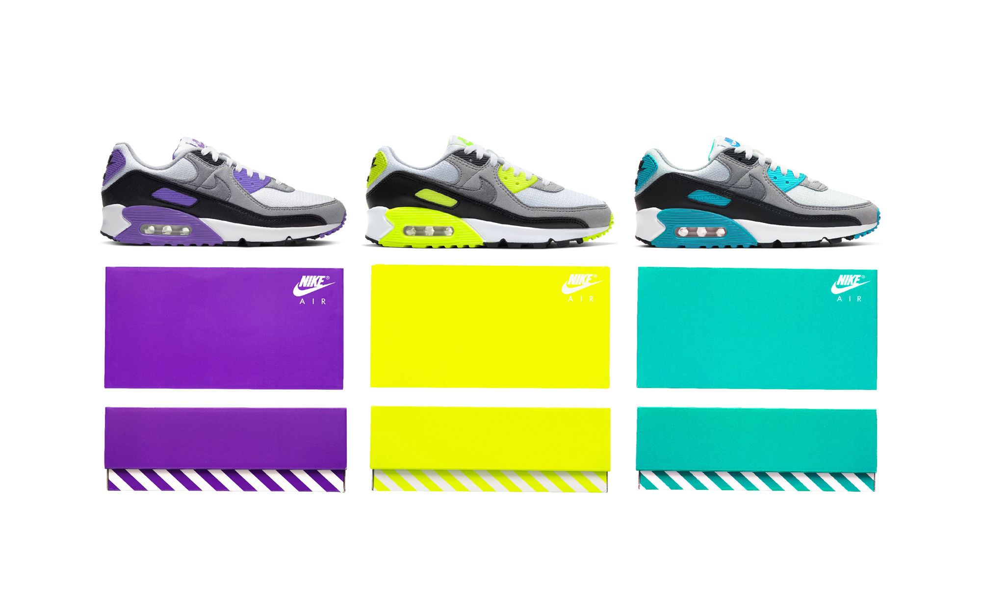Nike Air Max 90 – The Changes