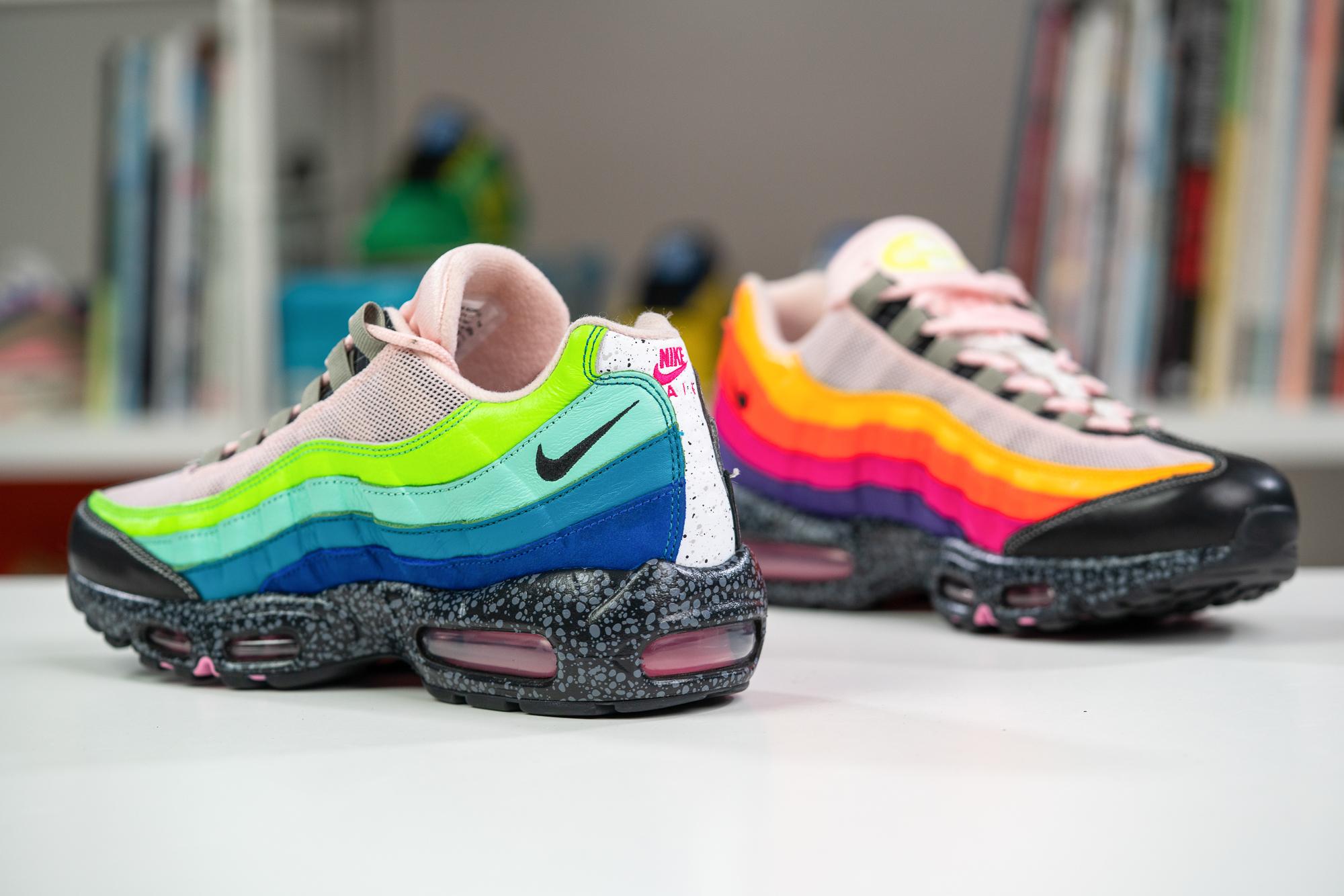 Nike Air Max 95 '20 for 20', PUMA Fast