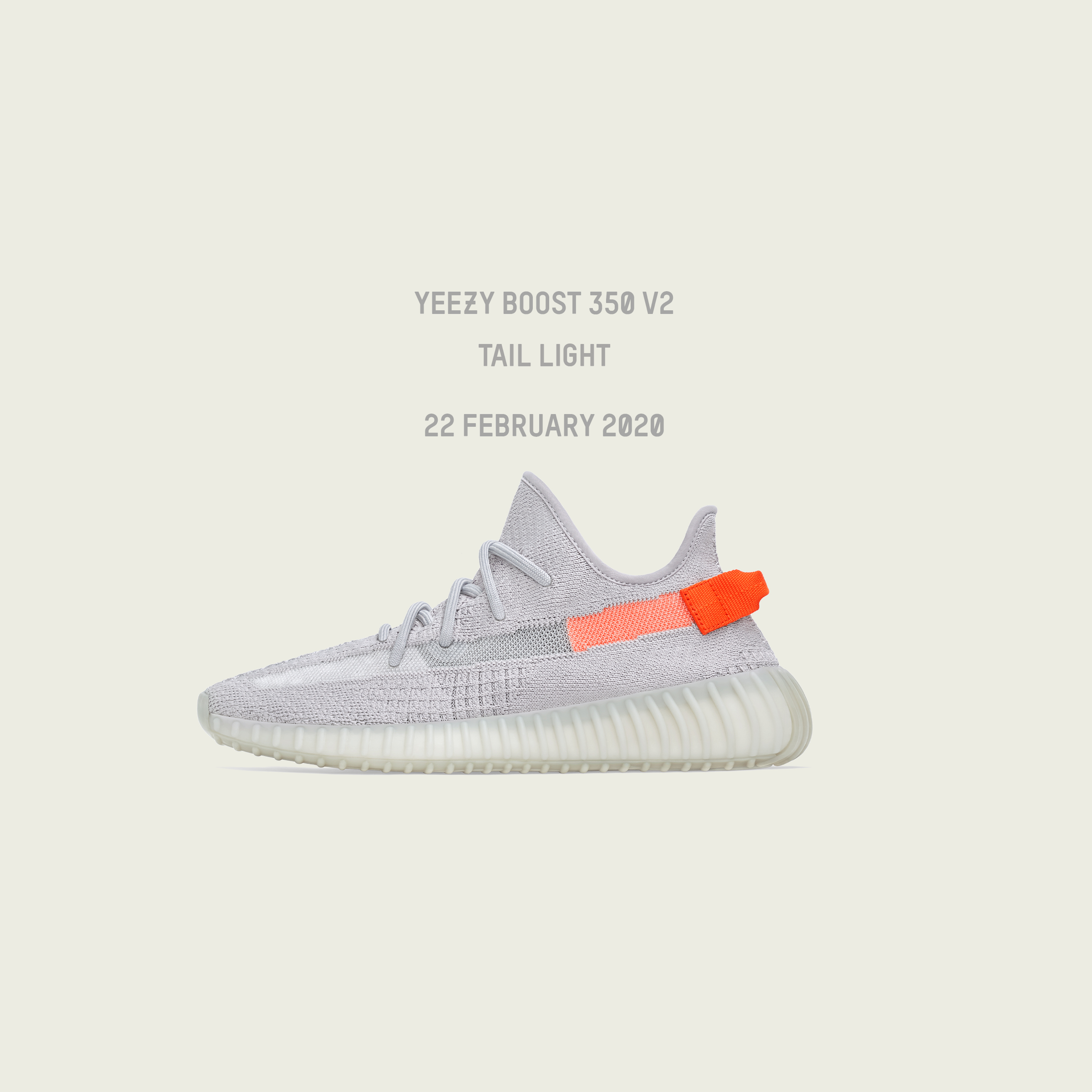 Kanye West & adidas are back with the YEEZY Boost 350 V2 'Tail Light'