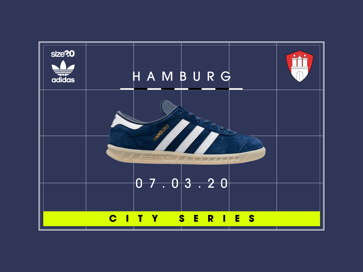 The adidas Originals City Series Hamburg OG is returning for 2020