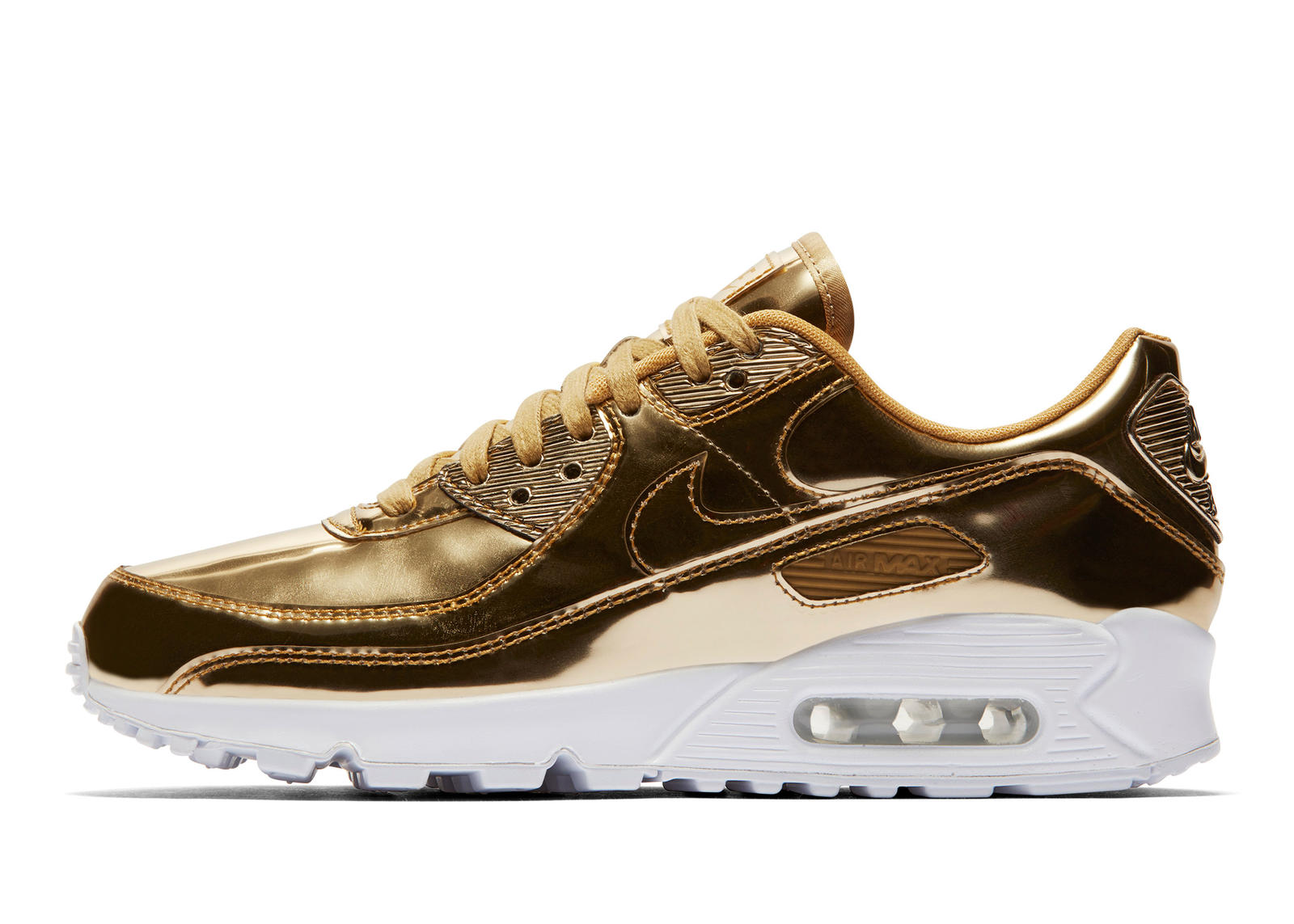 Air Max 90 'Metallic' Pack Gold