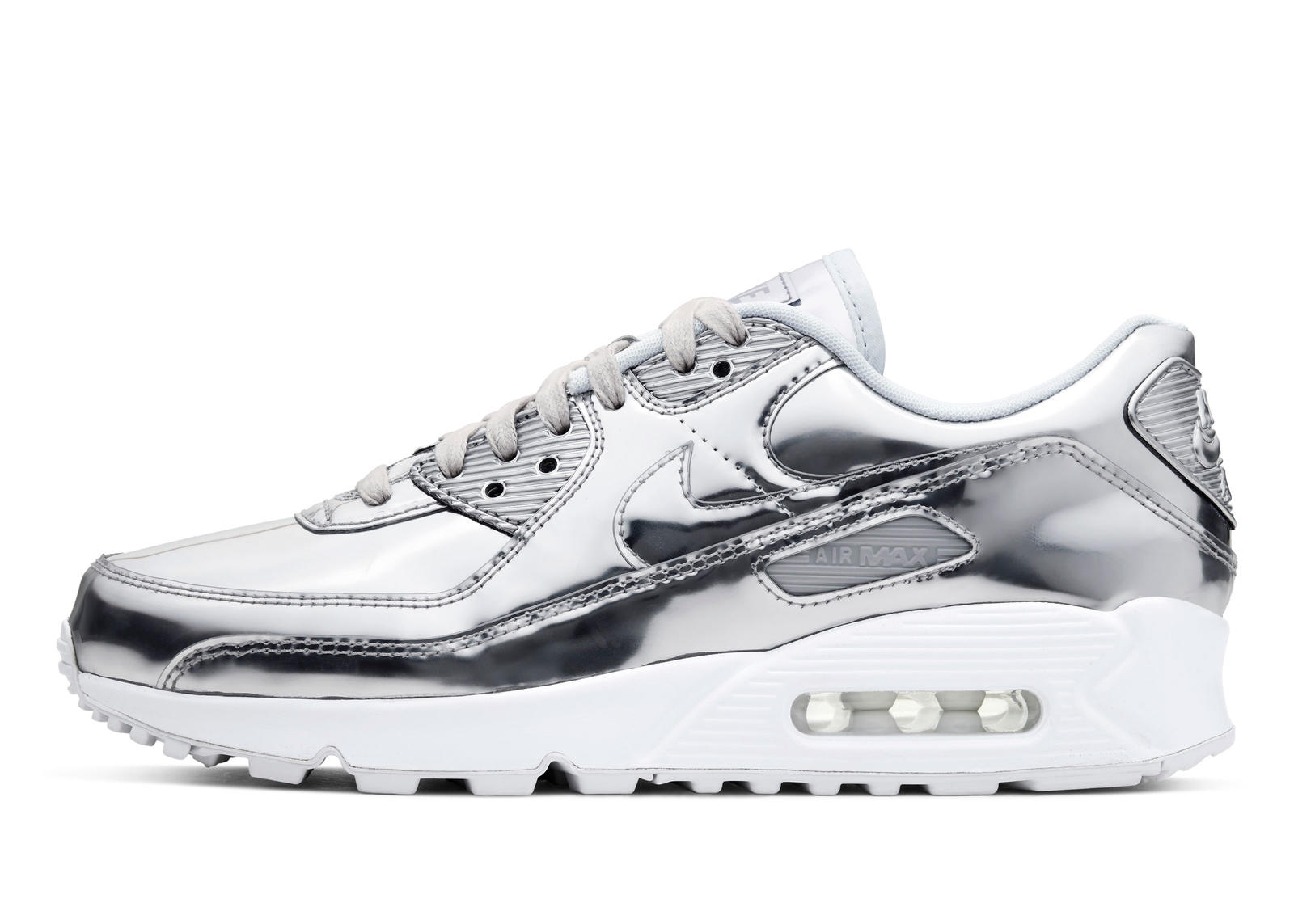 Air Max 90 'Metallic' Pack Silver