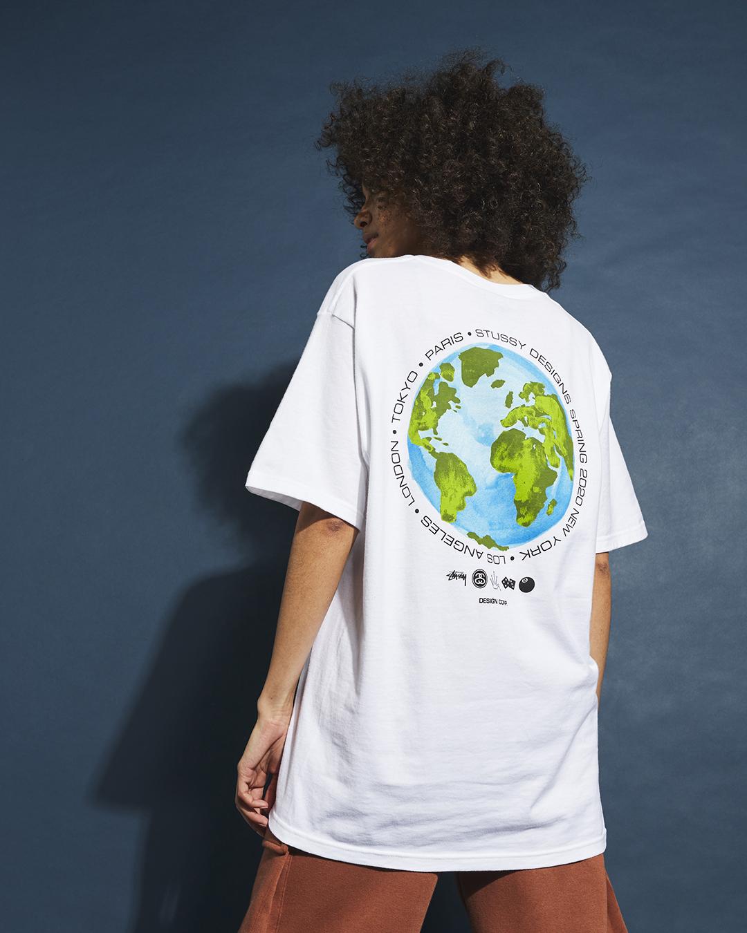 Stussy - Global Design T-Shirt