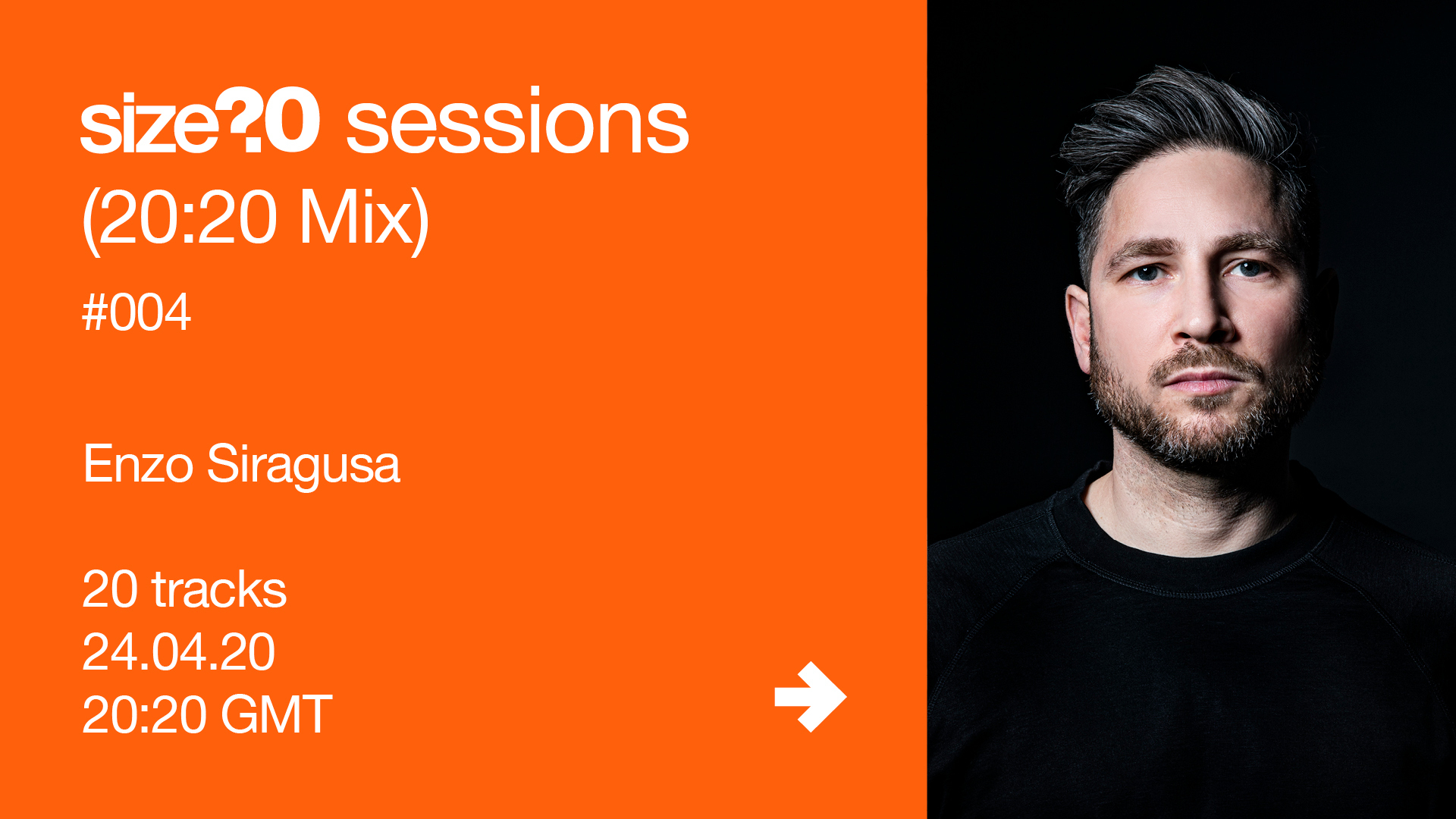 Enzo Siragusa size? sessions (20:20 Mix)