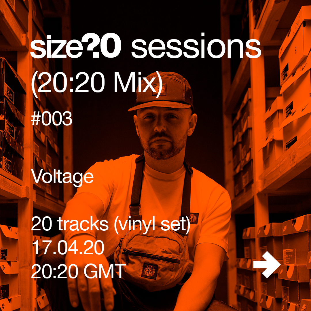 Get to know Voltage ahead of his size? sessions (20:20 Mix)