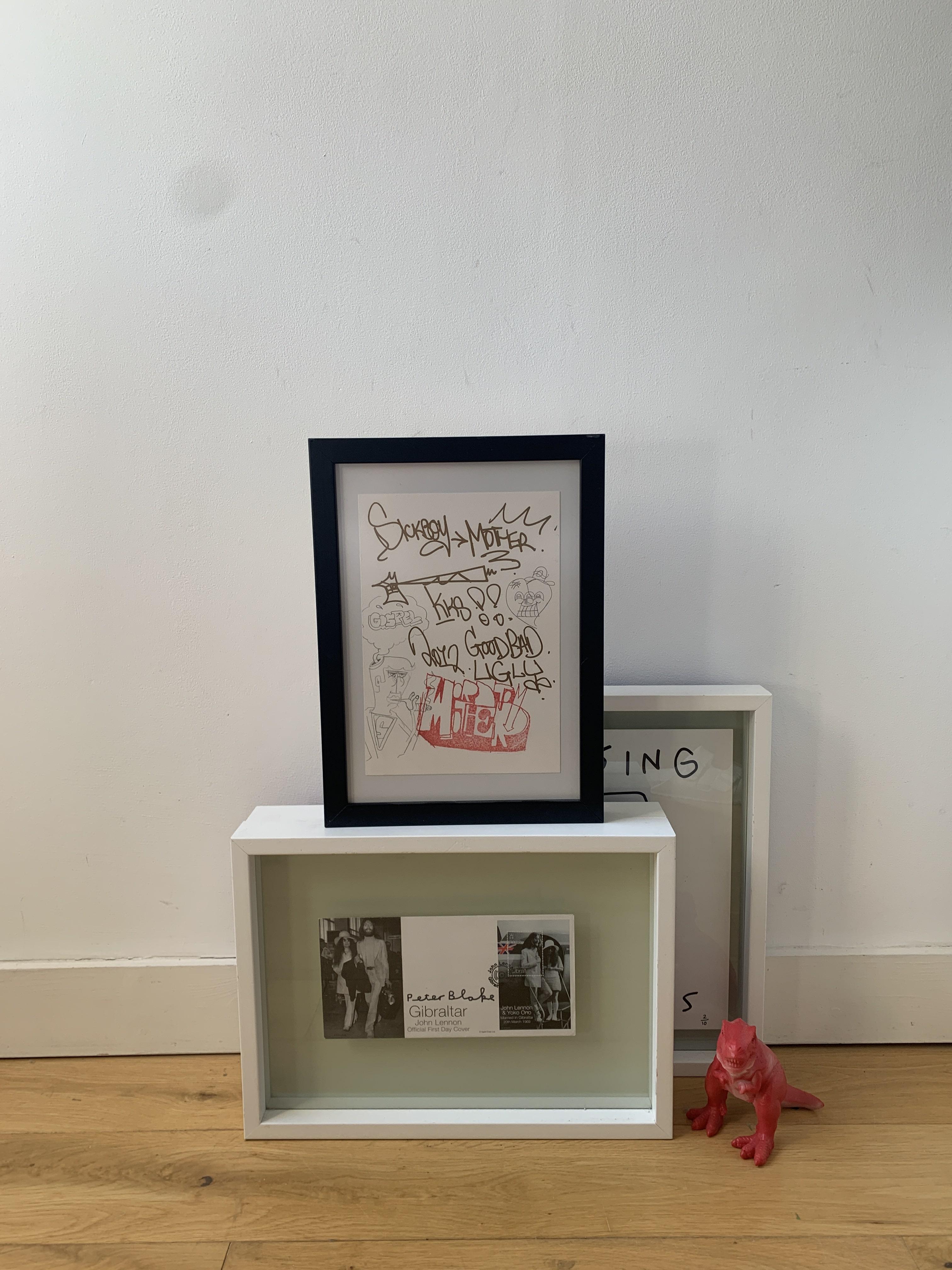 Mother x Sickboy hand-drawn collaboration