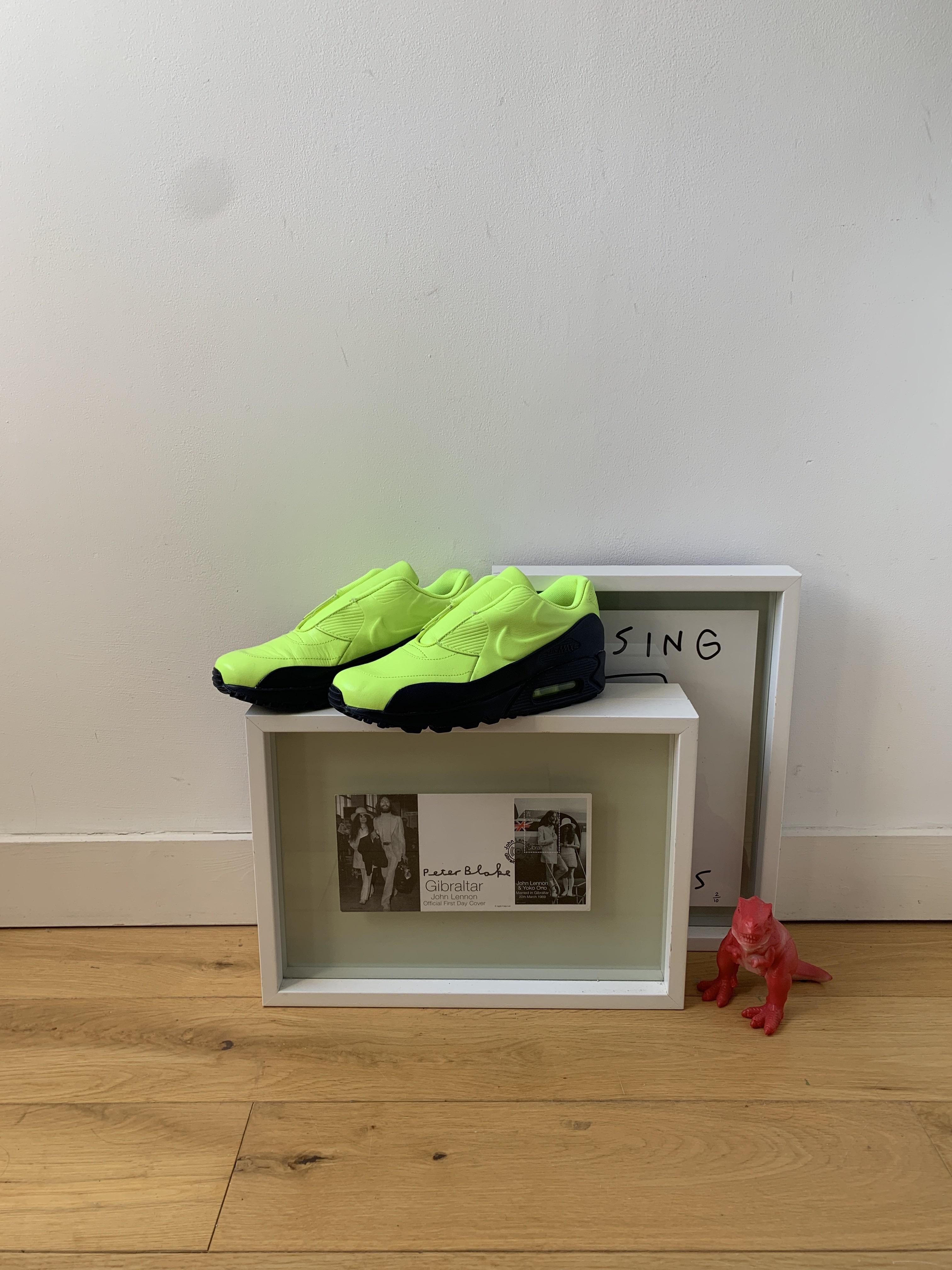 sacai x NikeLab Air Max 90 'Volt Obsidian' - 2015