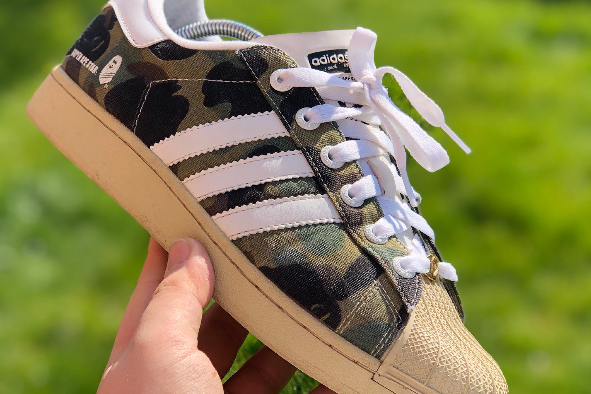 BAPE x adidas Superstar 'Super Ape Star' - 2003