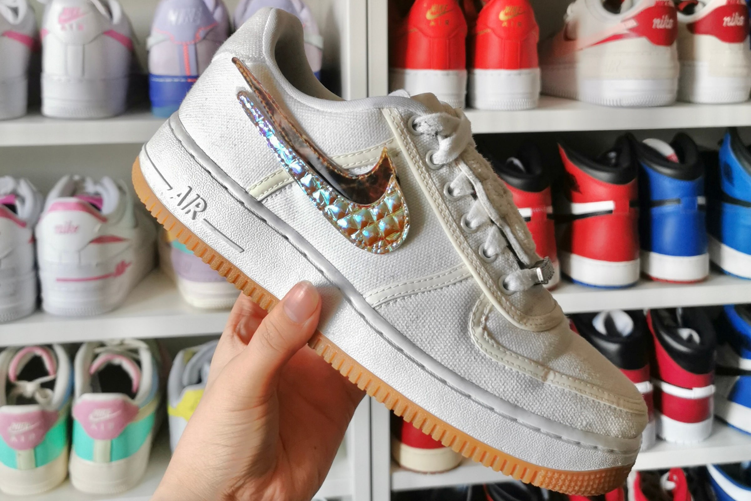 Nike Air Force 1 x Travis Scott - 2018