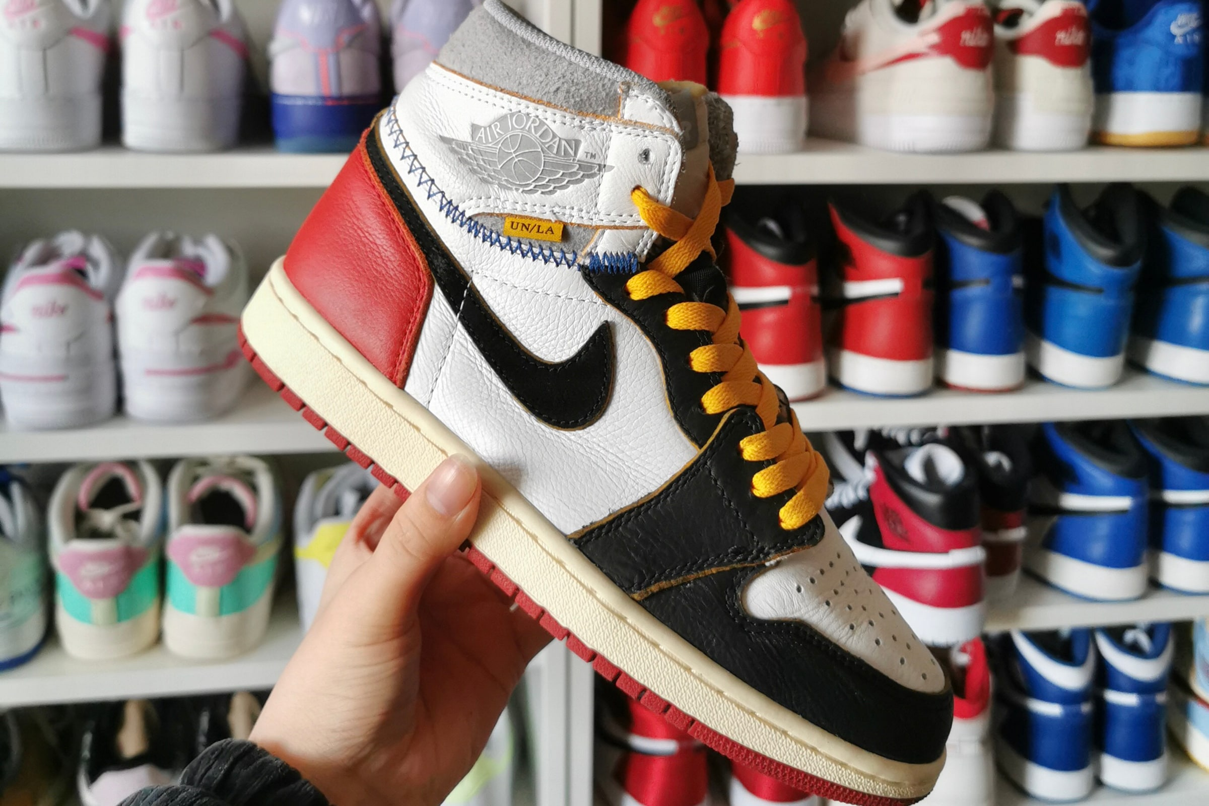 Air Jordan 1 x Union 'Black Toe'