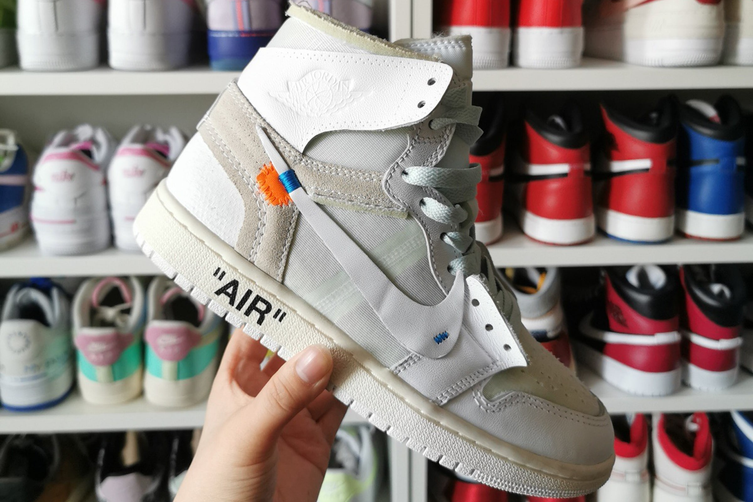 Nike x Off-White Air Jordan 1 - 2018