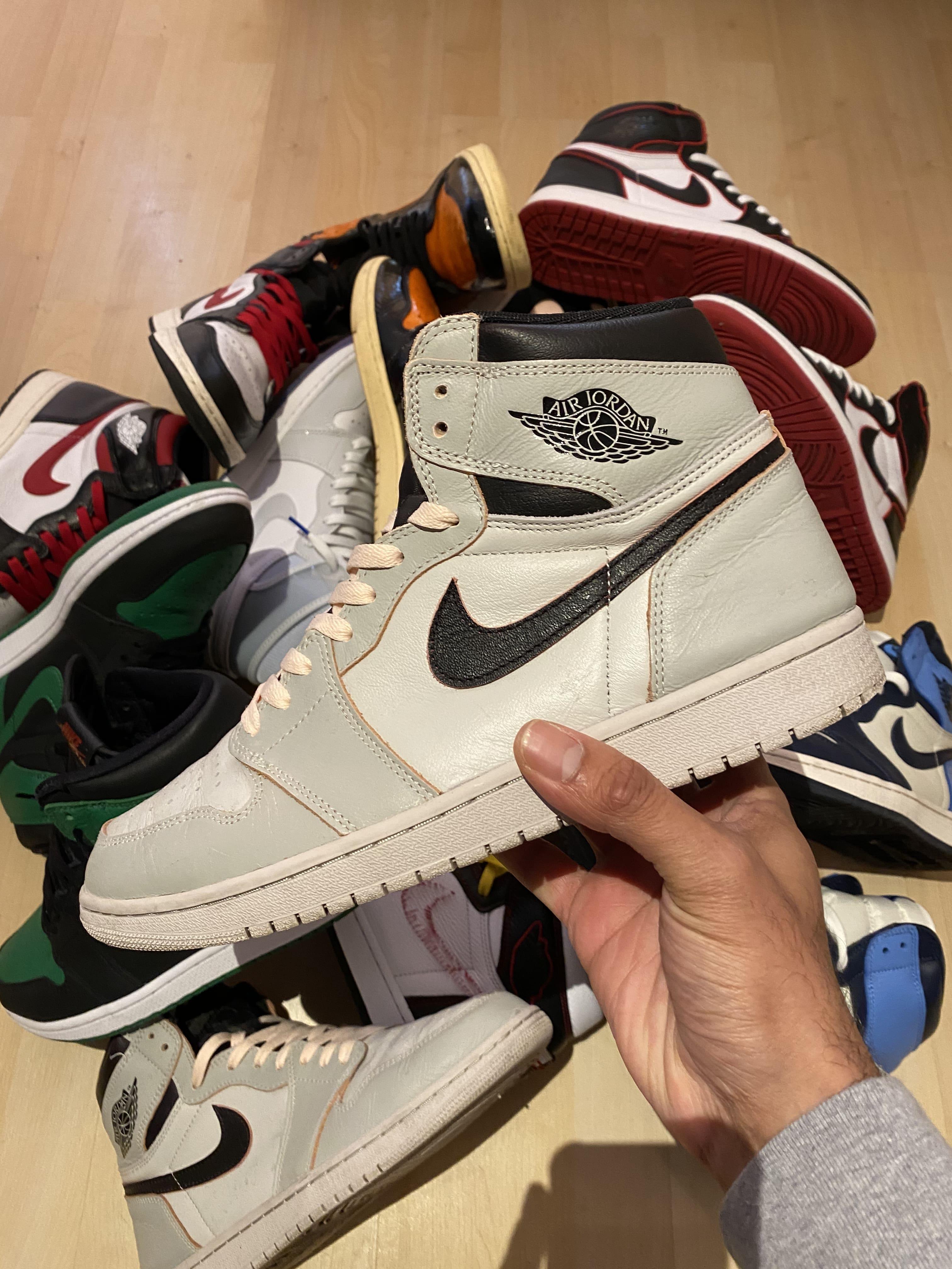Air Jordan 1 x Nike SB 'NYC to Paris' - 2019