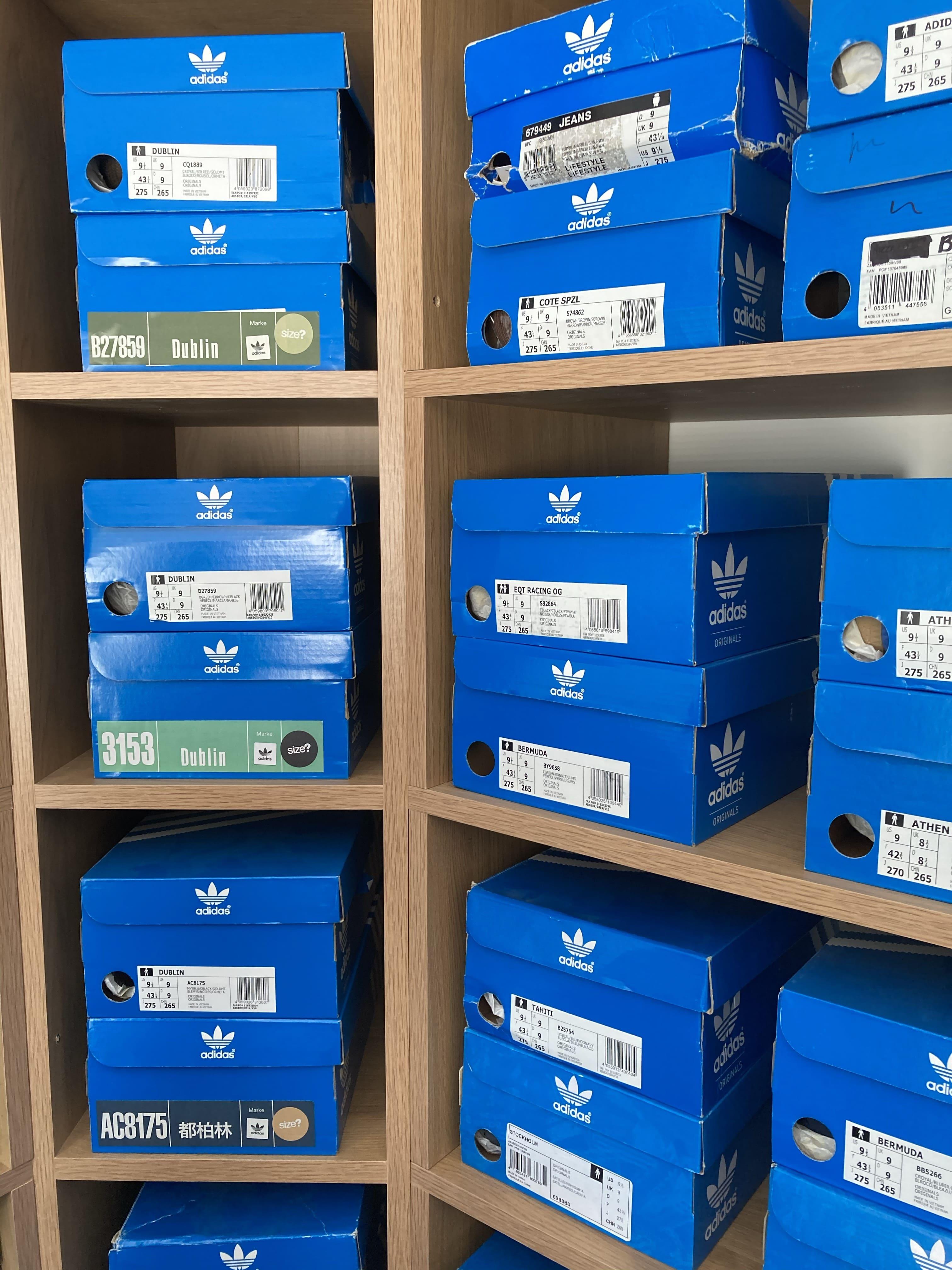 adidas Originals Dublin boxes