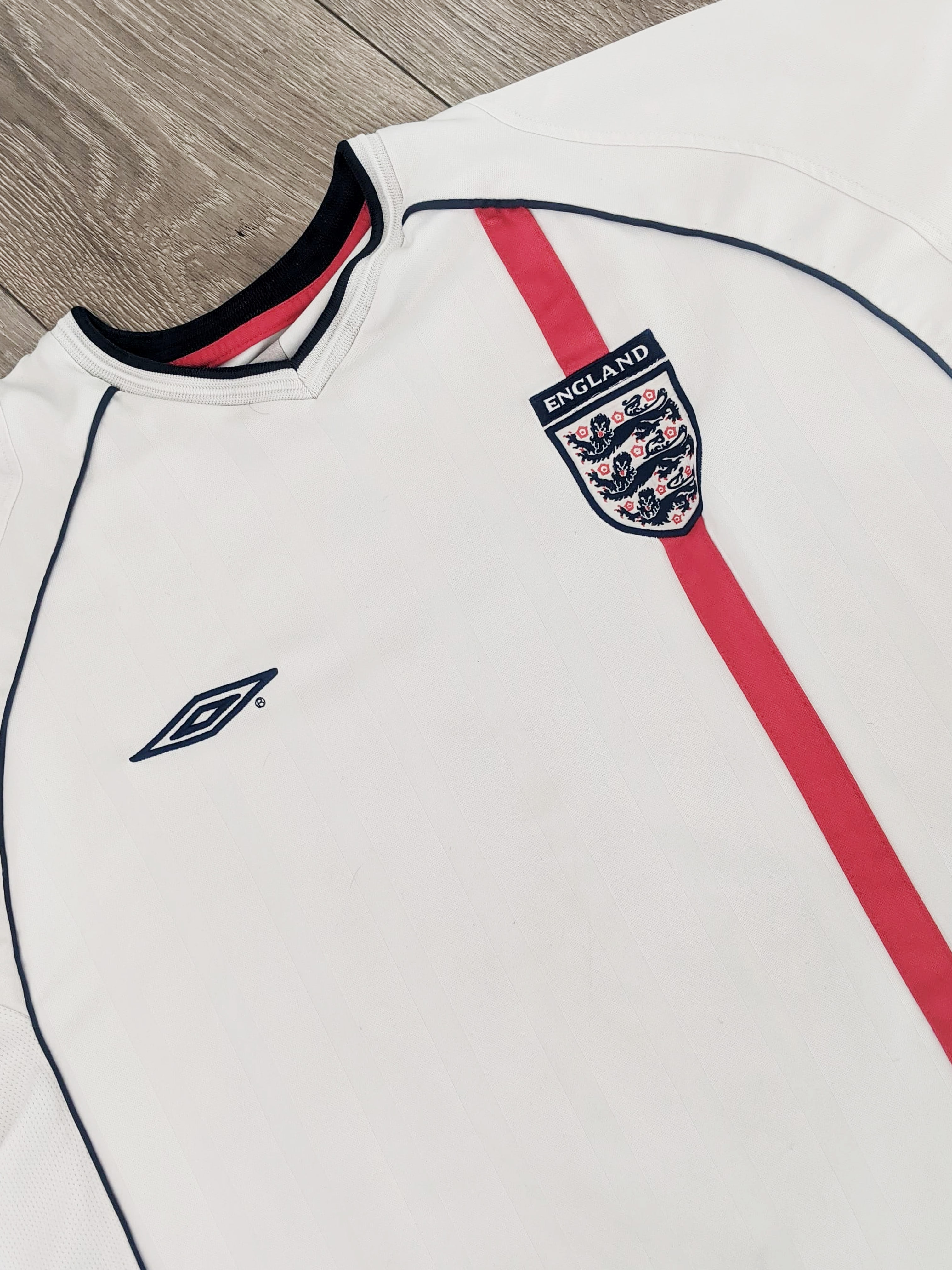 England home - 2001/02
