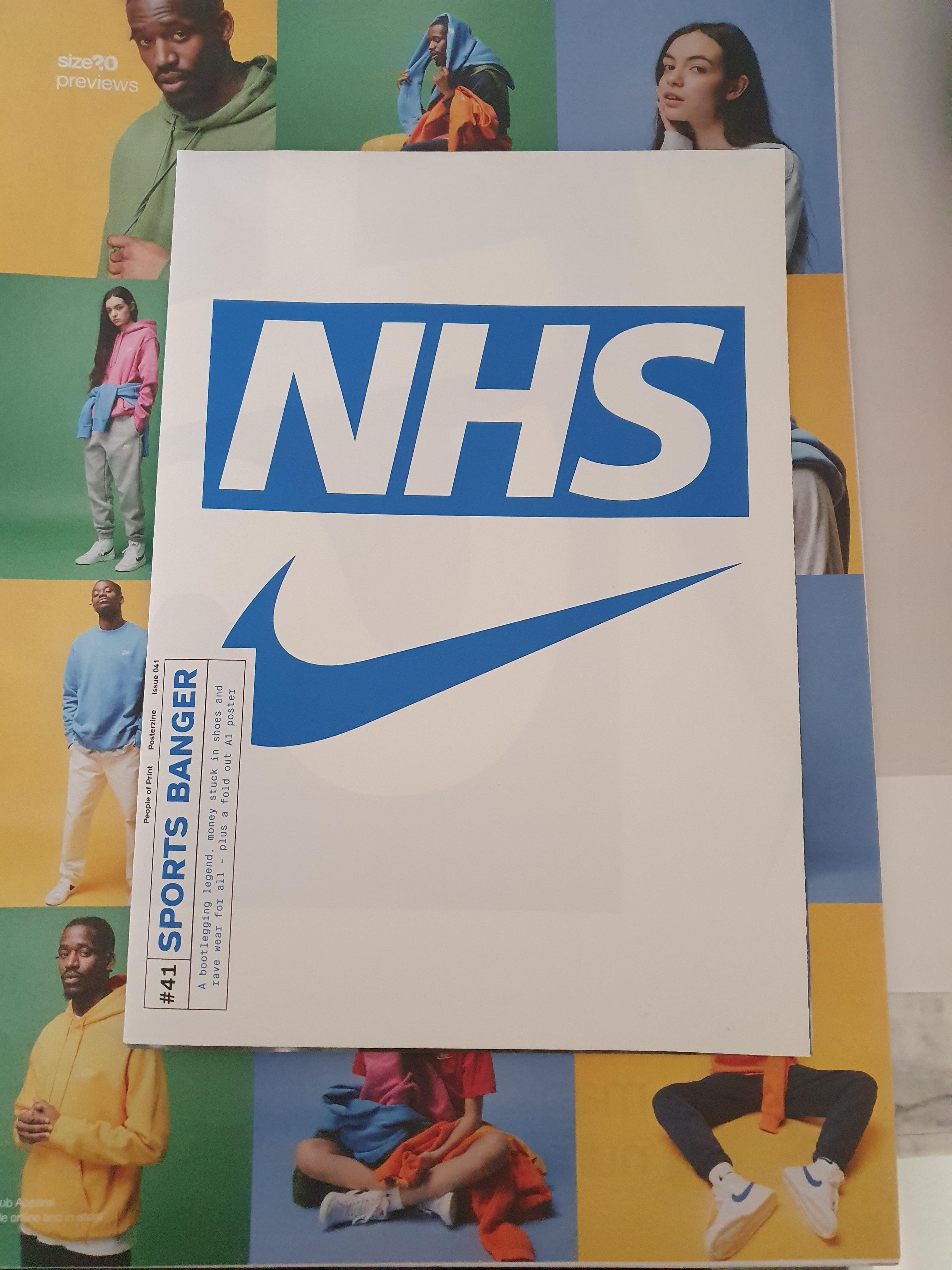 Sports Banger 'Nike x NHS' Zine