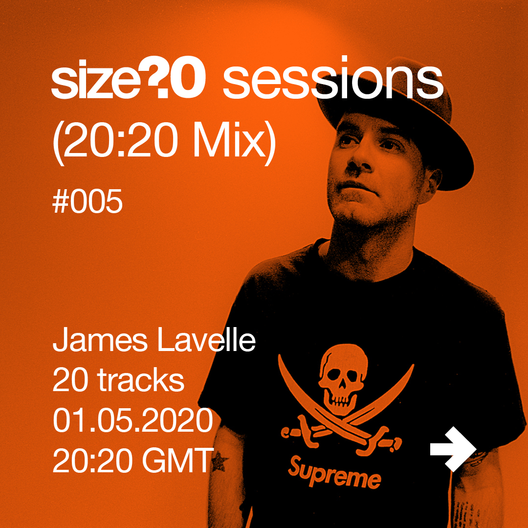 Give James Lavelle's size? sessions (20:20 Mix) a spin
