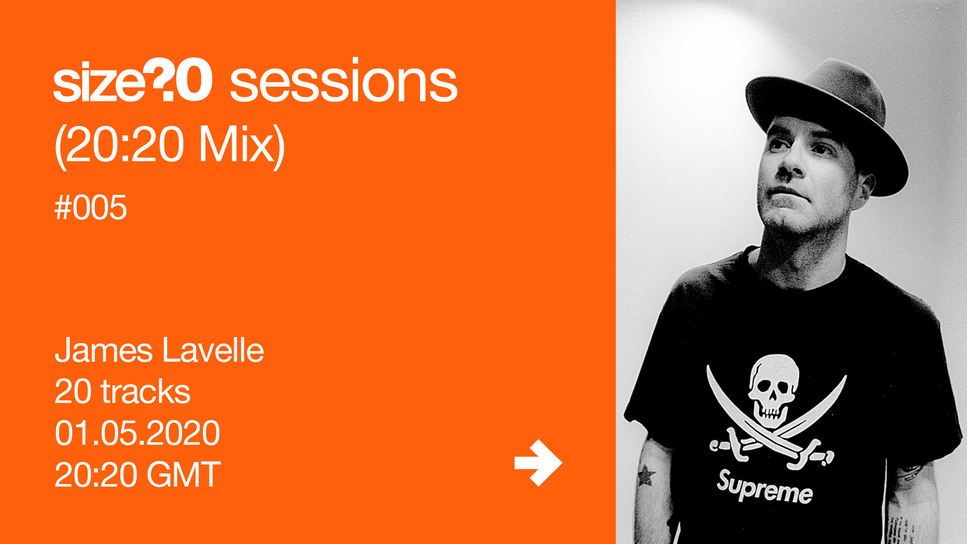 James Lavelle size? sessions (20:20 Mix)