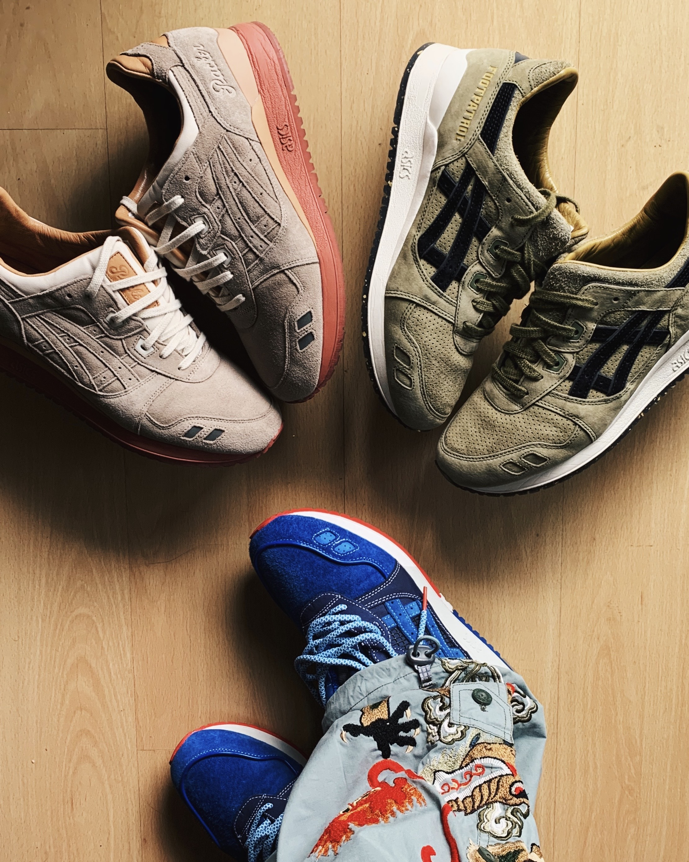 ASICS GEL-Lyte III Collaborations - 2015