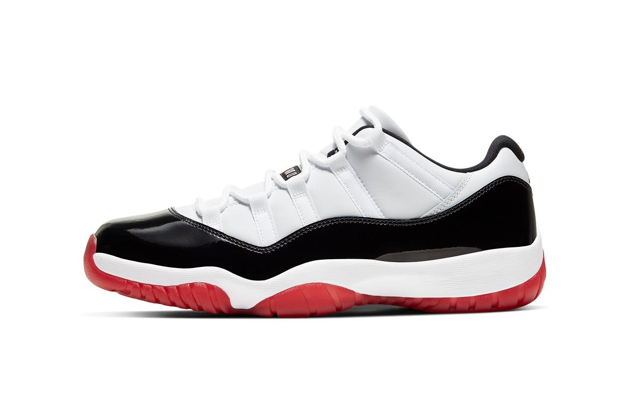 Air Jordan 11 Low 'Gym Red' sidewall