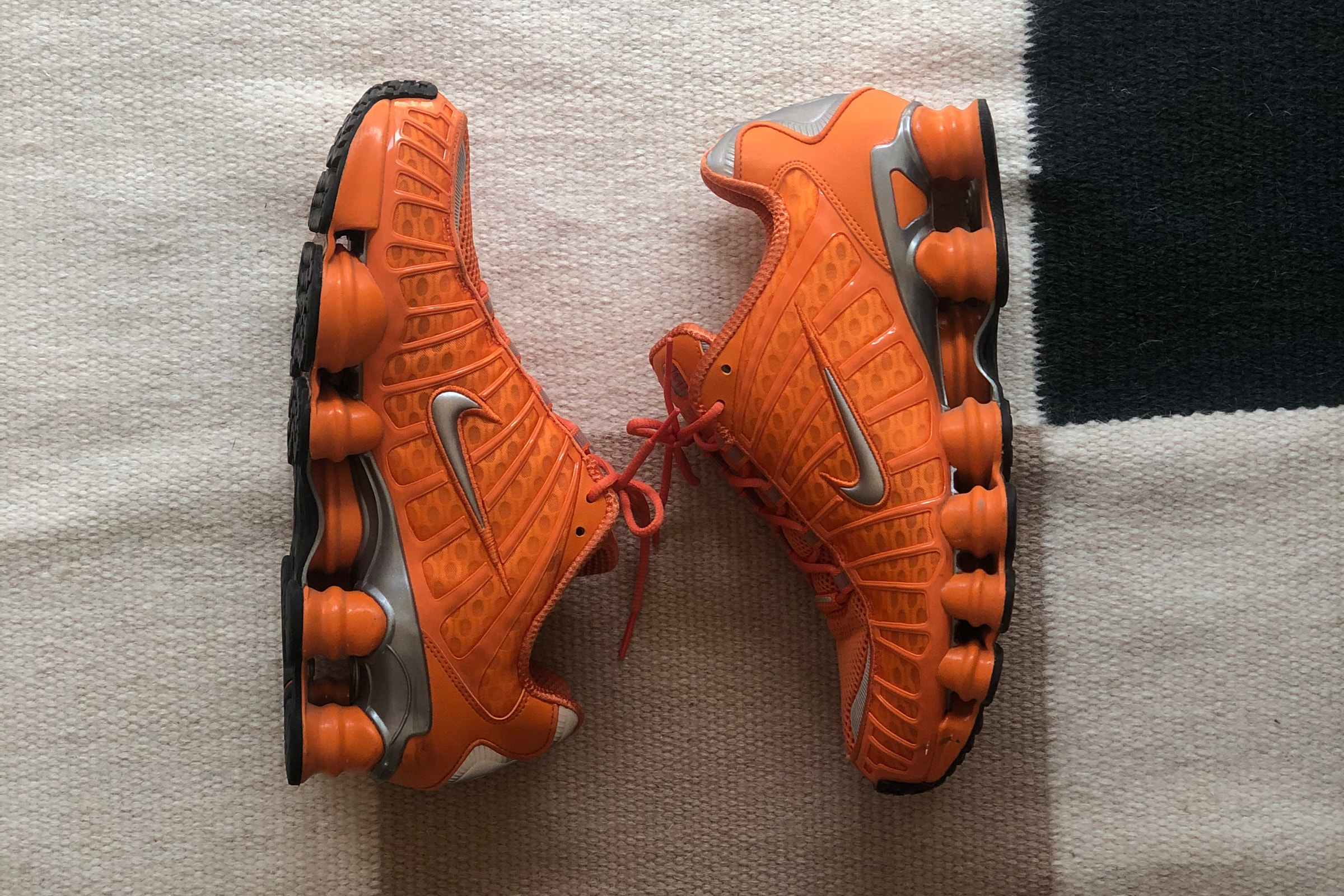 Nike Shox TL 'Total Orange'