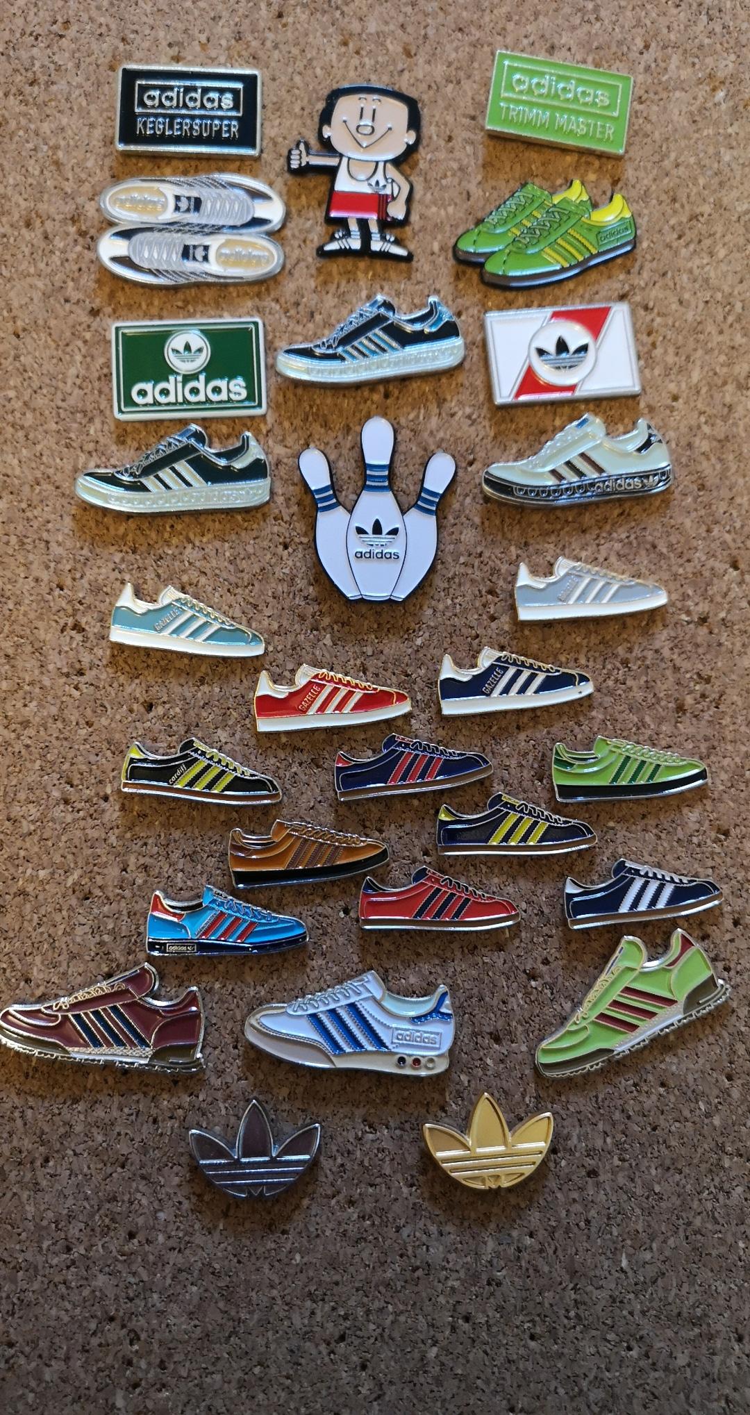 adidas Originals Pin Badges