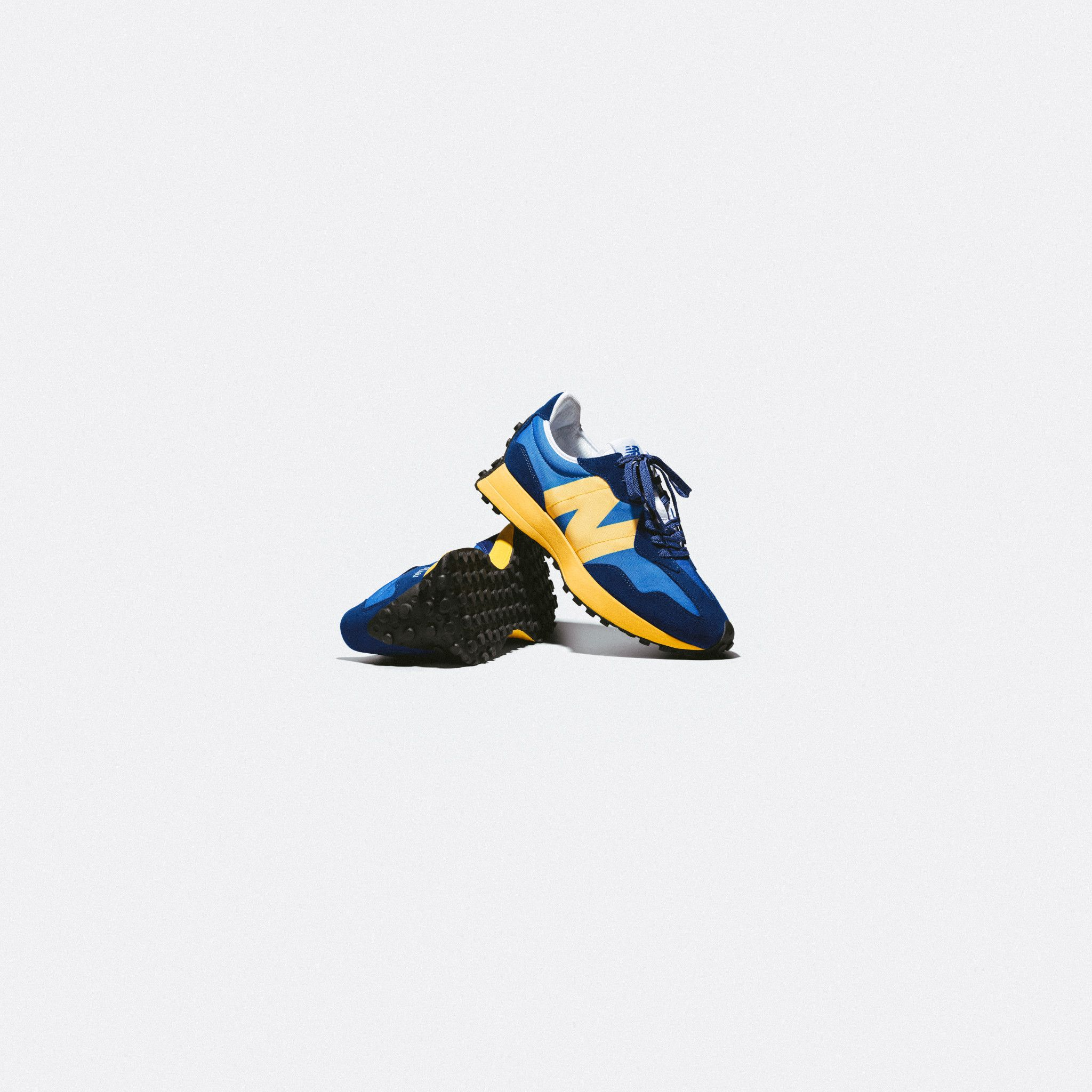 New Balance 327 Blue/Yellow