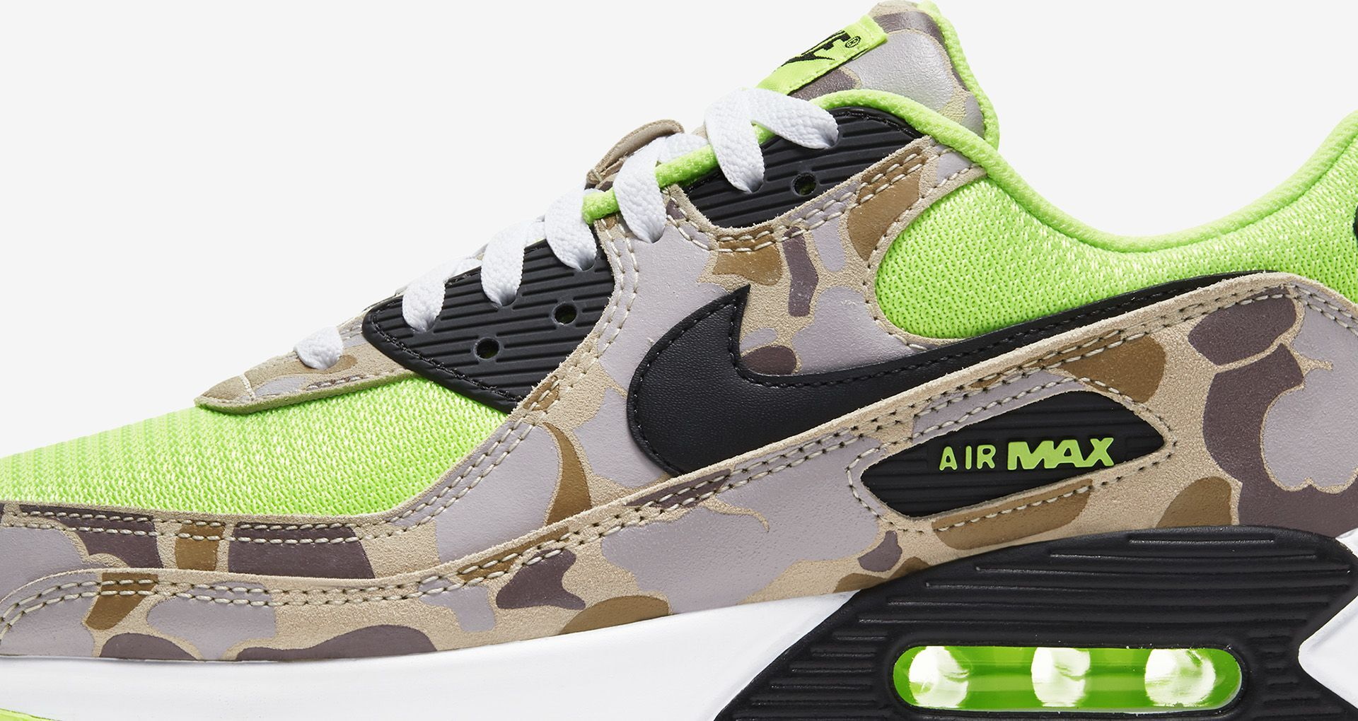 The Air Max 90 SP 'Green Camo' raffle is now open