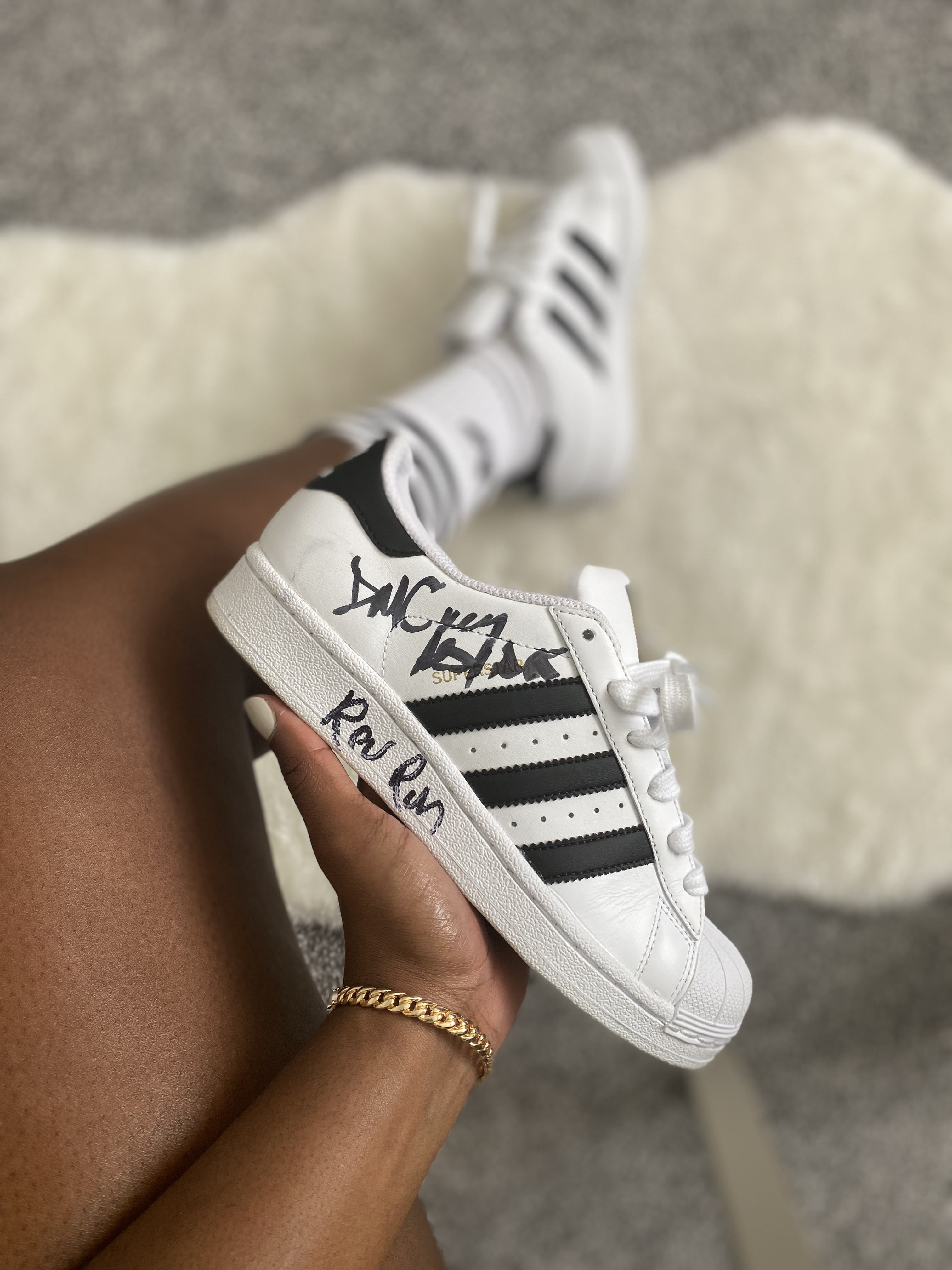 adidas Originals Superstar - signed by Run-DMC