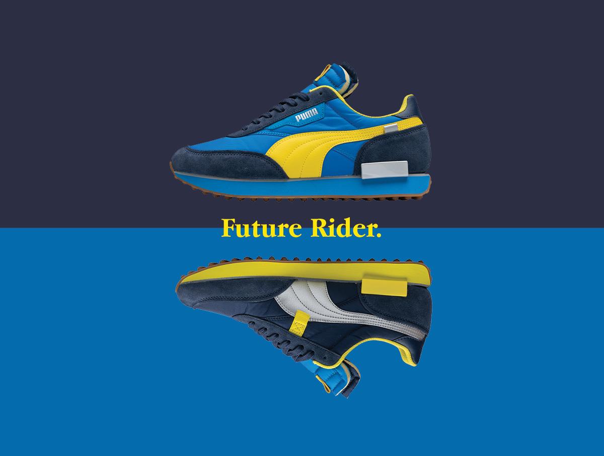 PUMA Future Rider size? exclusive