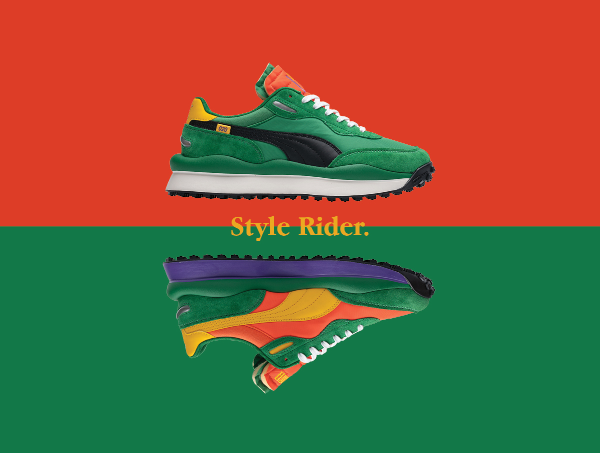 PUMA Style Rider size? exclusive