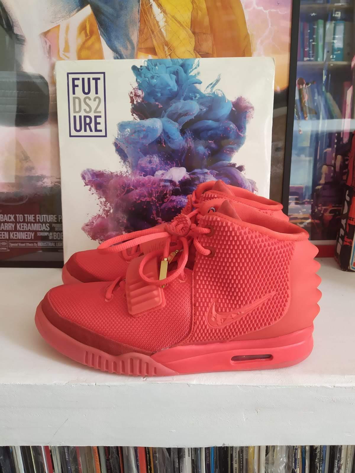 Nike Air Yeezy II 'Red October' - 2014