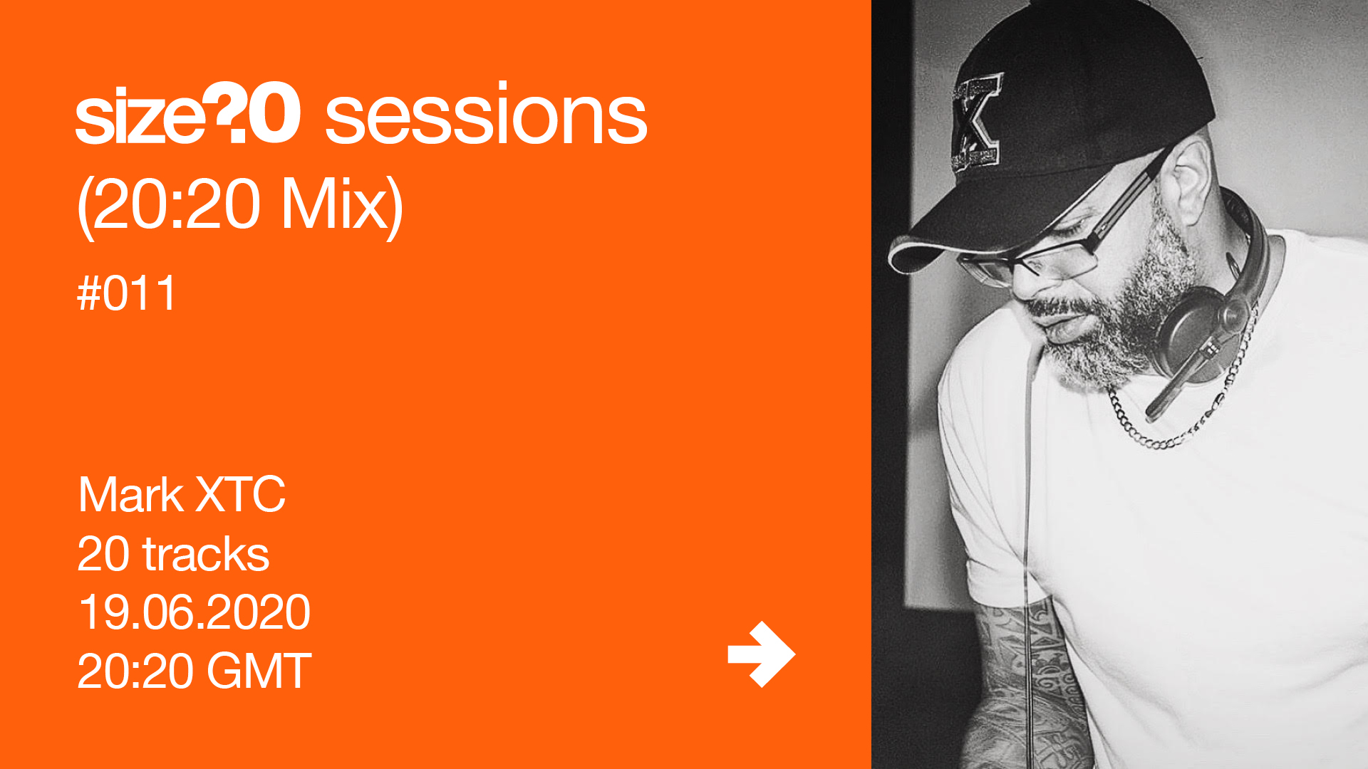 Mark XTC size? sessions (20:20 Mix) #011
