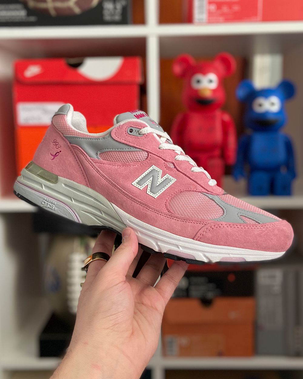 New Balance x Lace up for the cure WR993KM  - 2012