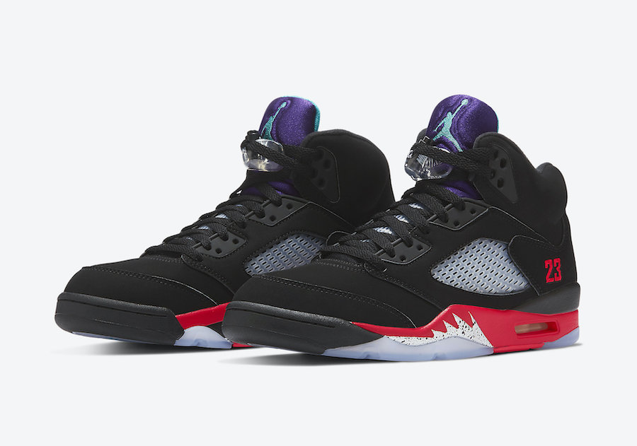 Enter the draw for the Air Jordan 5 Retro 'Top 3'