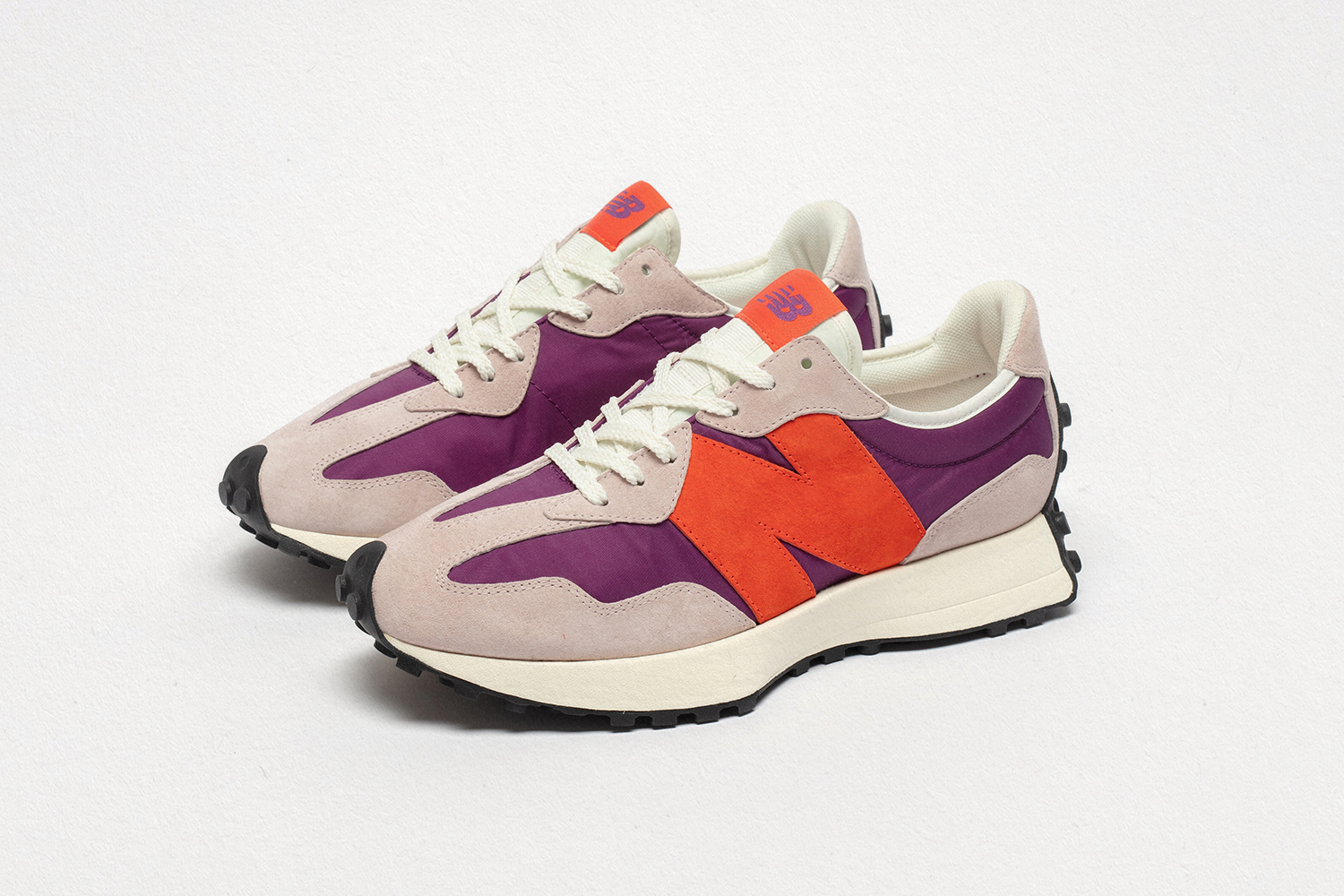 New Balance 327 purple/grey/orange  - size? exclusive