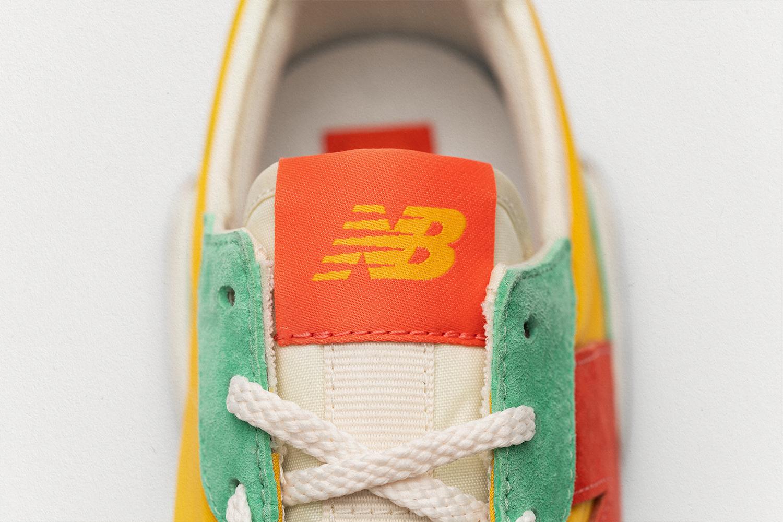 New Balance 327 yellow/green/orange  - size? exclusive
