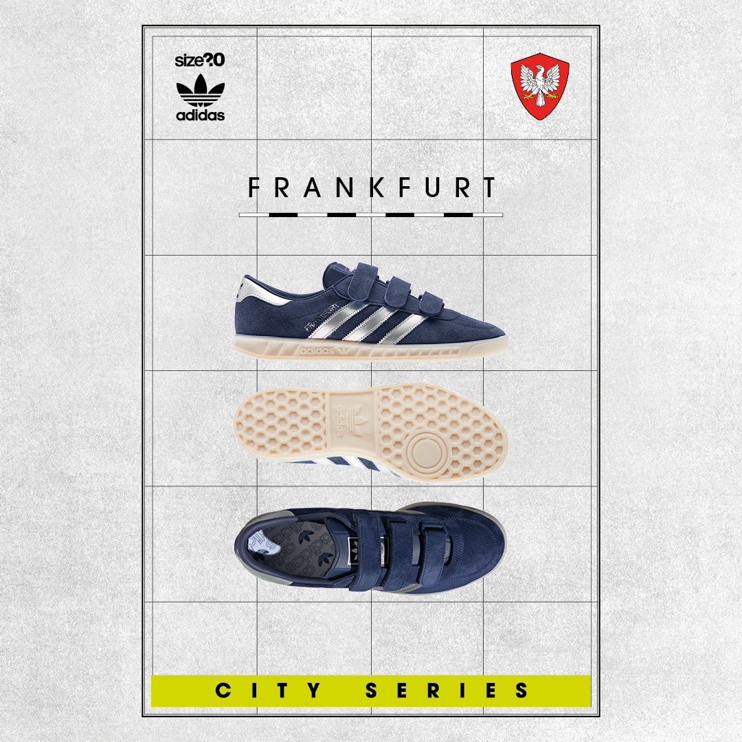 Get in the draw for the adidas Originals Frankfurt OG
